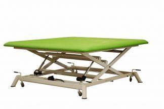 Electric bobath (XL) with 2 motors - Scissor lift with wheels