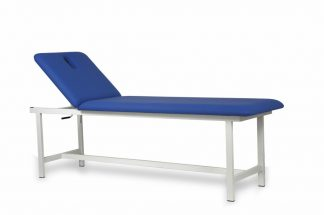 Fixed treatment bed - 240 x 70 cm - 2 sections - Max. capacity: 300 kg