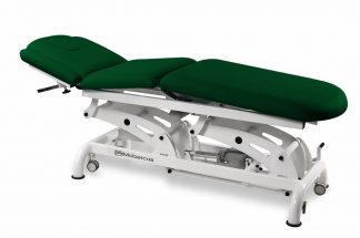 Electric treatment table for osteopati - 3 sections - 3 motors