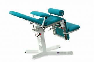 Electric treatment table for proctoscopy, urology and proctology - Trendelenburg