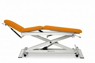Electric treatment table for osteopathy - 3 sections - Central fold