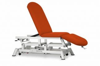 Hydraulic examination chair - 3 sections - Negative adjustment of backrest