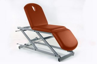 Hydraulic examination chair - 3 sections - TwinPillar-lift