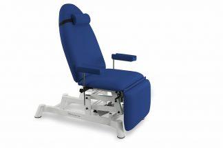 Electrical sampling chair - 2 motors - Adjustable armrests (height/rotation)