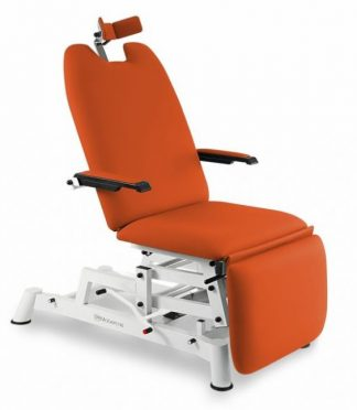 Hydraulic examination chair for ophthalmology