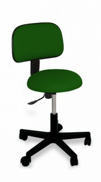Round chair with backrest