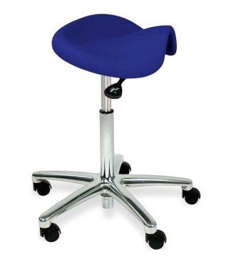 Ergonomical saddle chair