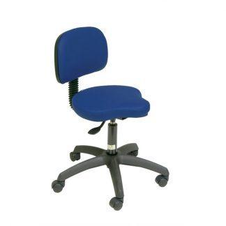 Triform chair with backrest - PVC base