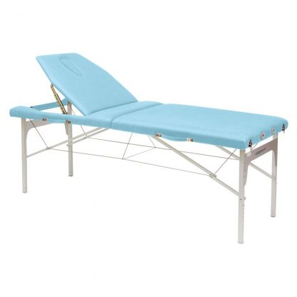 Light aluminium massage table - Adjustable height
