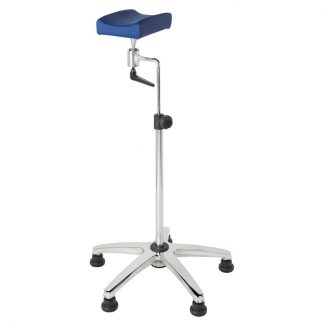 Armrests for sample taking with wheels - Slanted stand