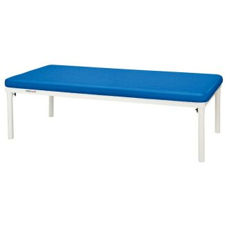 Stationary treatment table - 1 section - 198x100 cm - White coated frame
