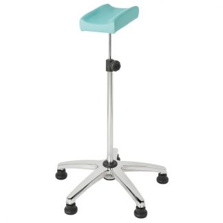 Armrests for sample taking with wheels