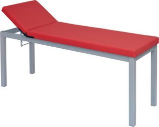 Stationary treatment table - 2 sections - detachable legs