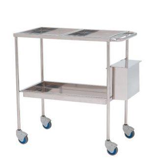 Treatment trolley - 82x45x80 cm