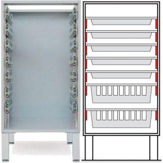 Floor cabinet - ISO-modul - 5 2 baskets
