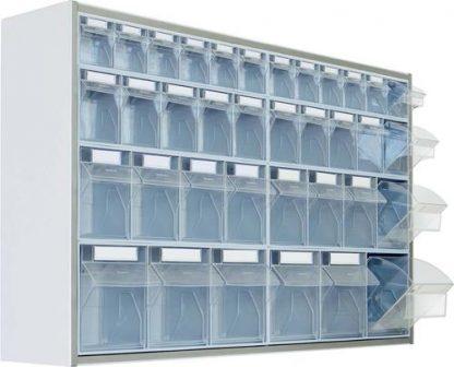 Wall mounted storage cabinet - 125x25x65 cm