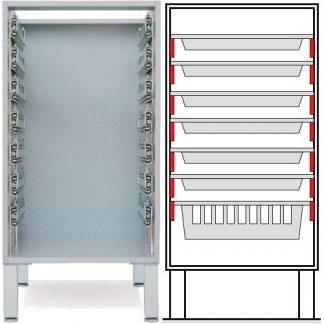 Floor cabinet - ISO-modul - 6 1 baskets
