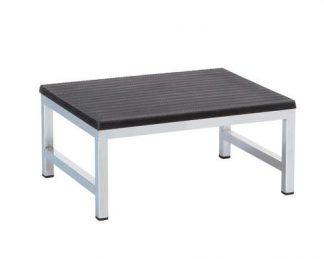 Steps - 1 step - 40 cm wide - chrome