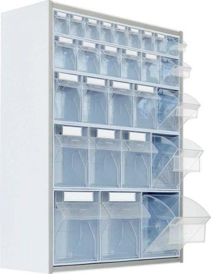 Wall mounted storage cabinet - 65x20x80 cm