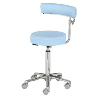 Surgical chair / surgery chair with Adjustable armrests - Aluminium base