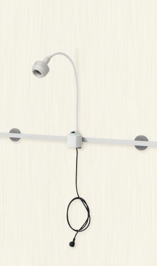Examination lamp LED 10W - for mount with wall rail