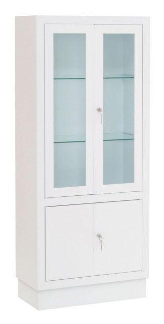 Instrument cabinet - 60x30x140 cm - White finish