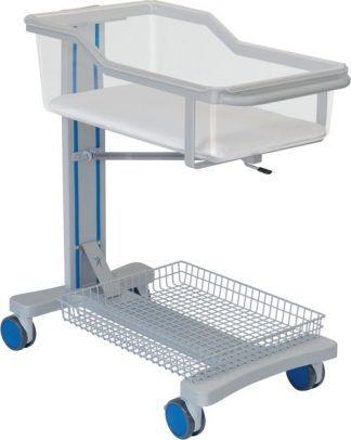 Infant bed for neonatology - Trendelenburg - 90x47x97 cm - With basket