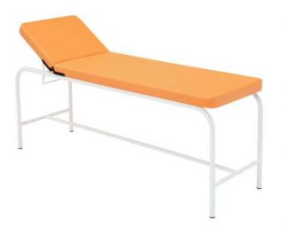 Stationary treatment table - 2 sections - Epoxy coating