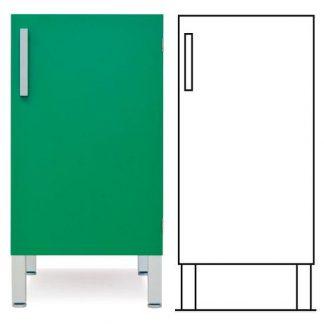 Floor cabinet - ISO-modul - 1 door