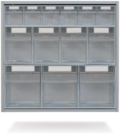 Wall cabinet with extendable drawers - 63,5x35x60 cm