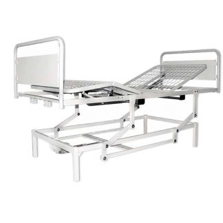 4 sections bed customised for infusion etc. - Adjustable - Electrical motor