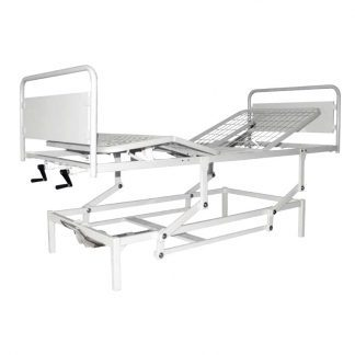 4 sections bed customised for infusion etc. - Adjustable height