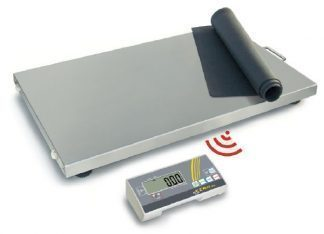 Industriscale with wireless display - Can be used with batteries - Max 300 kg