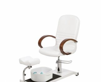 Rotatable pedikyrchair with footspa and Adjustable legrests