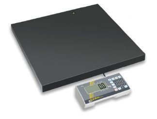 Floor scale with slip protection - Class III - Max 300 kg - Slim design