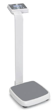 Pillar scale with wheels - Class III - BMI function - Max 250 kg