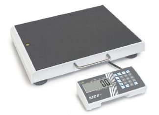 Floor scale with slip protection - Class III - Max 300 kg - customised for the overweight