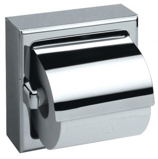 Toilet paper holder in stainless steel (AISI 304) - Model 3