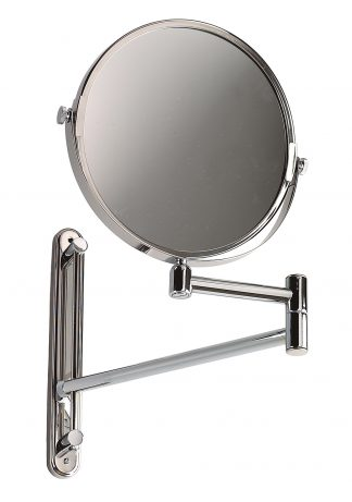 Enlargement mirror made out of stainless steel (AISI 304)