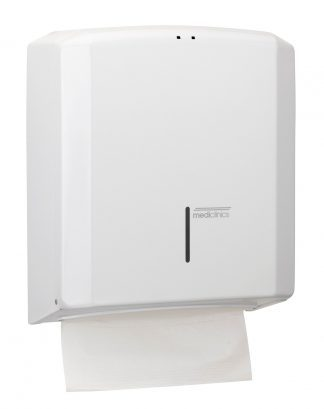 Dispenser for C / Z folded toilet paper