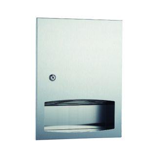 Dispenser for C / Z folded toilet paper - for integration