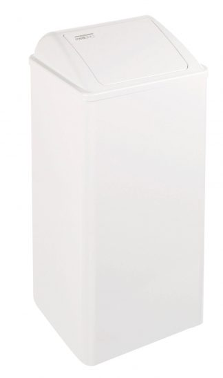 Waste basket with swing lid - 80 Litres