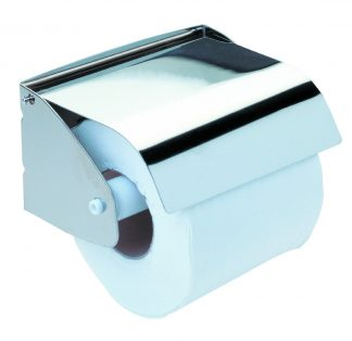 Toilet paper holder in stainless steel (AISI 304) - Model 2