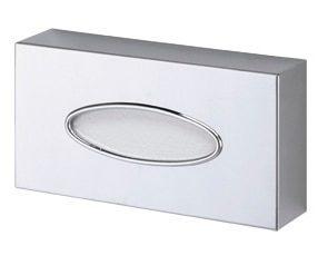 Dispenser for napkins in chromed brass - Oval opening