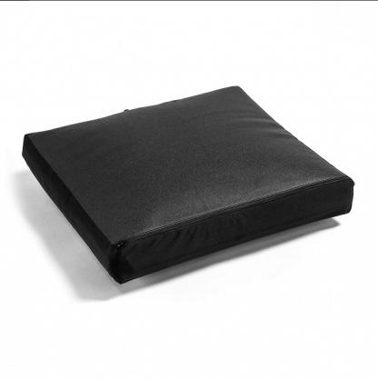 Air-controlled seat cushion for wheelchairs