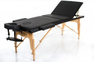 Foldable massage table - RESTPRO® Classic 3 - Adjustable backrest - Wooden