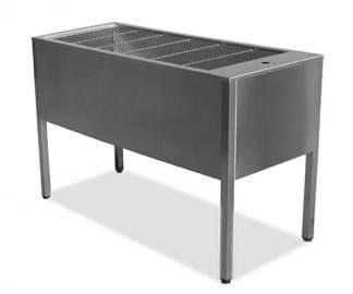 Liverpool stainless steel tub