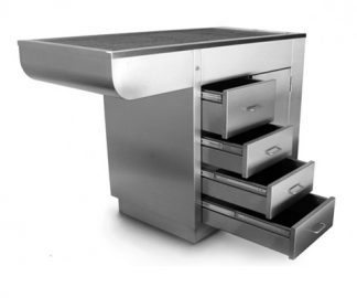 Manchester stainless steel tub with one 1 and 4 drawers