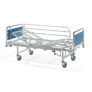 Hospital bed with wheels - Electric - 4 sections - Side rails - Symphony A13135
