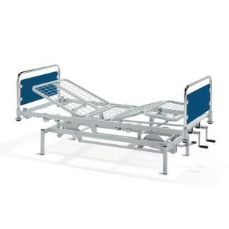 Stationary nursing bed - 4 sections - Height adjustable by foot pump - Symphony A13232